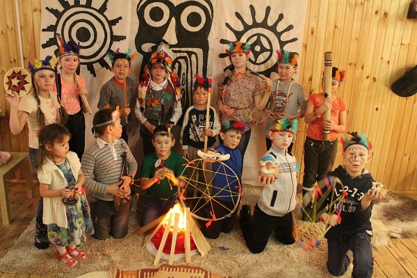 организация детского праздника в индейском стиле
