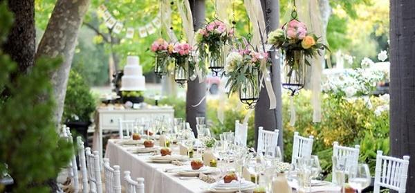 организация кейтеринга для свадьбы на природе