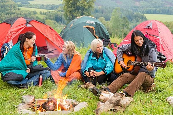 летний конкурс на природе с гитарой