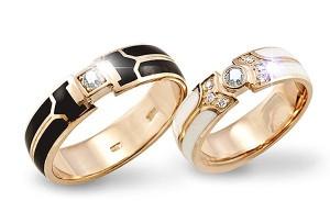 дизайнерские обручальные кольца, особенности этого вида