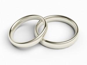 классические кольца для жениха и невесты