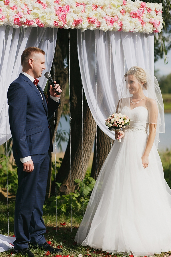 базовая стандартная арка для проведения выездной регистрации свадьбы