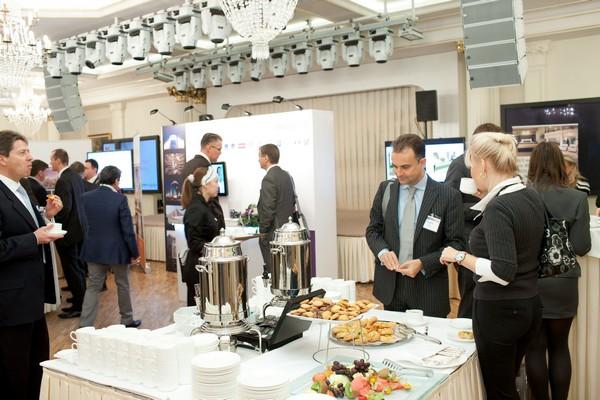 организация кофе-паузы во время проведения деловой презентации