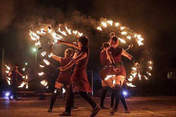 огненное шоу, любые артисты оригинального жанра