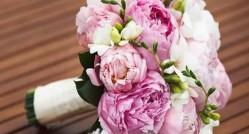 значение свадебного букета из голландских пионов, особенности выбора