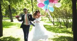 свадебная фотосессия летом, самые яркие идеи