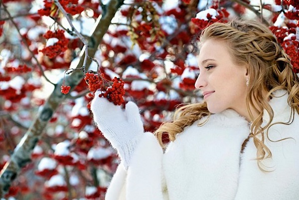прекрасный фон для зимней фотосессии