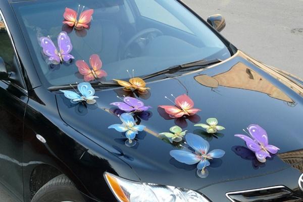 сколько стоит украшение в виде бабочек