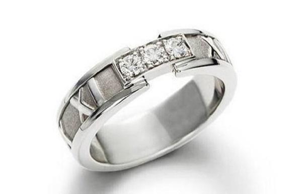 обручальное кольцо из коллекции Atlas