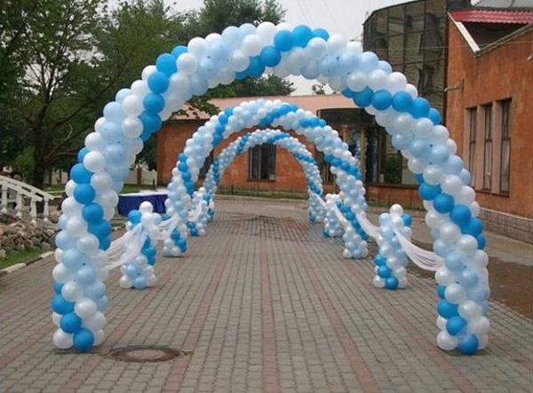 объемная арка на свадьбу